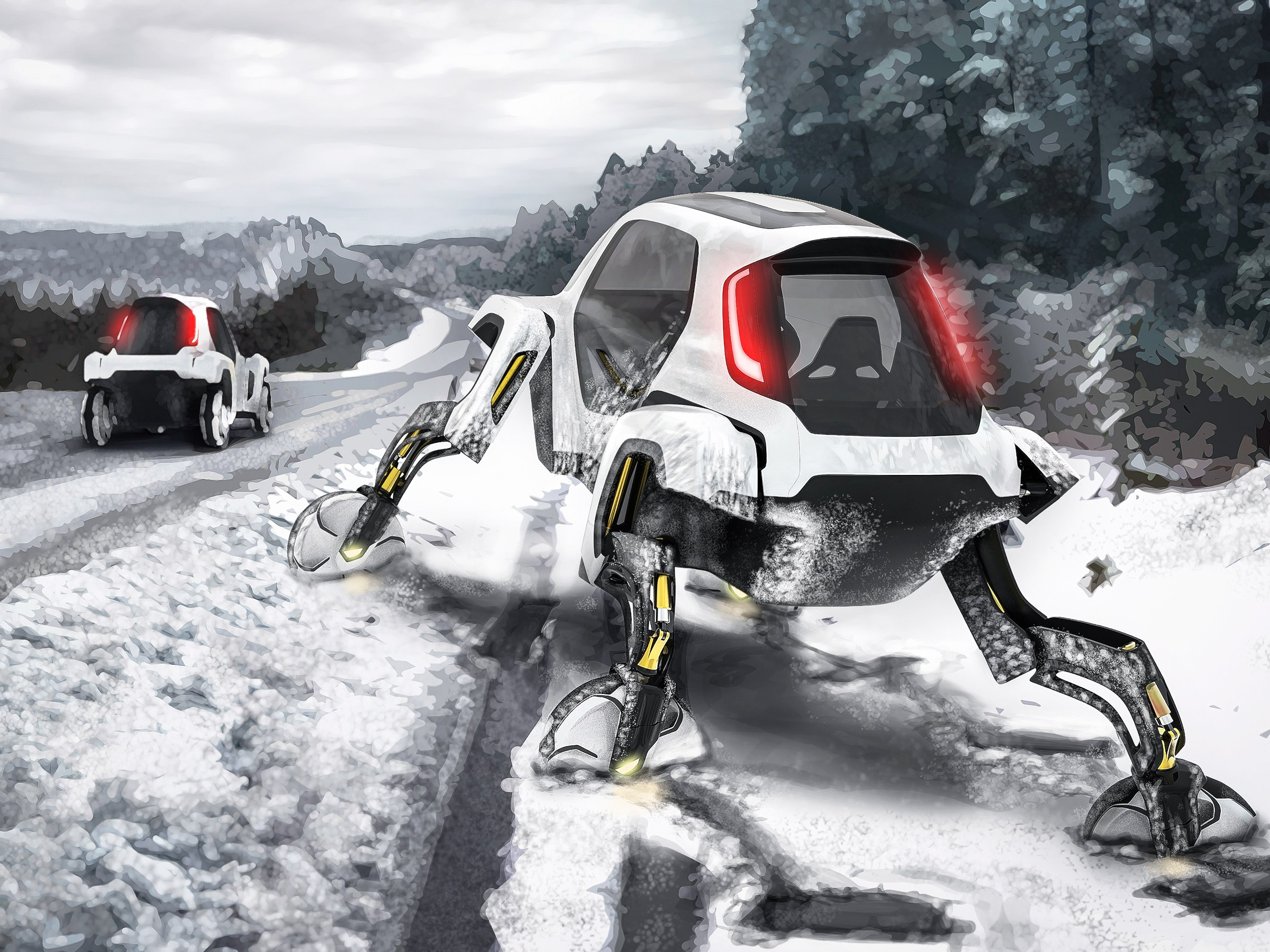 elevate-mobil-evakuasi-rancangan-hyundai-berkaki-robot